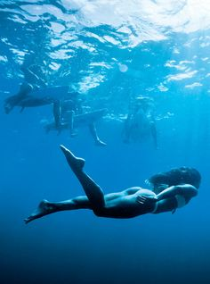 Dive down.