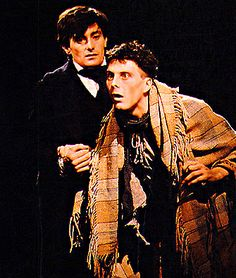 life and adventures of nicholas nickleby play | Roger Rees and David Threllfall in a ...