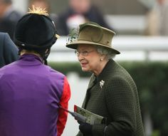 Queen Elizabeth II Photo - Newbury Races