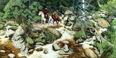 Bev Doolittle Painting