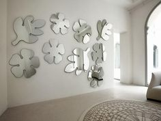 Decorative Cool Wall Mirrors Lotus-Frasca