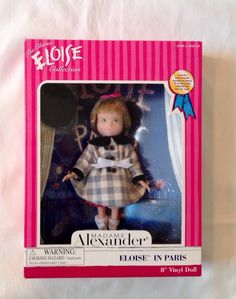 Mme Alexander ELOISE IN PARIS 8 in Doll