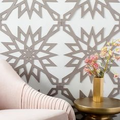 Muratto Cork Wall Covering - Geo Burst | west elm