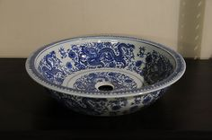 Blue And White Vessel Sink : 18