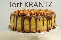 Tort Krantz - Retete culinare by Teo's Kitchen Romanian Desserts, Romanian Food, Dessert Drinks, Dessert Recipes, Pastry Cake, Something Sweet, Cakes And More, Chocolate Desserts, Food And Drink