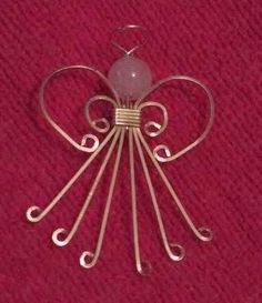 christmas wire jewelry designs | Found on oocities.org