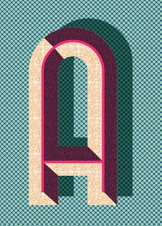 Pawaiian Hunch / Poster shop / The letter A Typography Love, Typography Letters, Typography Poster, Graphic Design Typography, Lettering Design, Graphic Design Illustration, Graphic Design Art, Type Design, Alphabet Letters