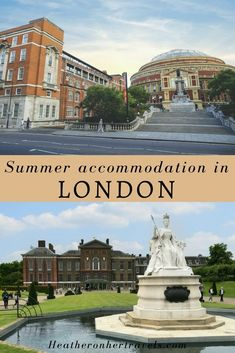 Read about affordable summer accommodation in London