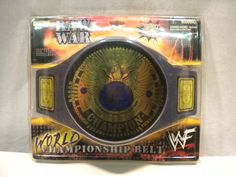 WWF WWE Heavyweight Championship Belt Jakks Pacific 1999 SEALED Raw War Eagle in Toys & Hobbies, Action Figures, Sports | eBay