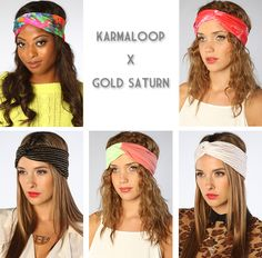Karmaloop x Gold Saturn Exclusive Turbands | Miss KL Blog | Miss KL Blog
