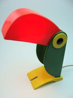 'toucan lamp' designed by giorgio ferrari for moma (1970s)