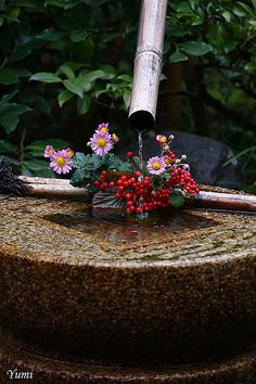 鹿威し Bamboo Fountain, Japanese Wagashi, Japanese Tea Ceremony, Kamakura, Throughout The World, Nihon, People Art, Live Wallpapers, Japanese Culture