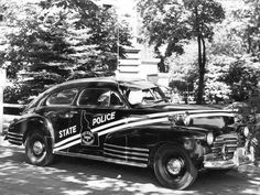 Chevrolet Fleetline Aerosedan Idaho State Police 1947.