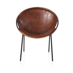 Chair, Goat Leather
