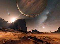 planet alien landscape | Short Sharp Science: Exoplanet findings spark philosophical debate