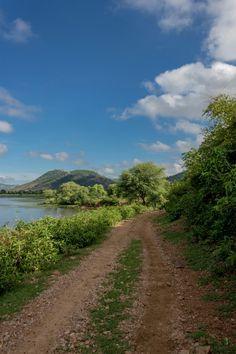 A walk along side this lake.  #travelphotography #traveler #landscape #nature #Skyporn #lakeside #green #rajasthan