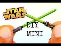 how to: mini Star Wars light sabers