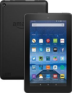 "Win Fire Tablet 7"" Display Wi-Fi 8 GB - Includes Special Offers Black"