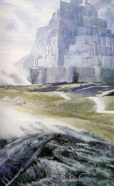 Minas Tirith Alan Lee