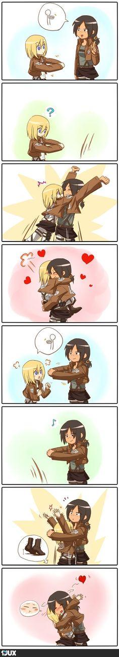 Süße Comics kommen gut an :)
