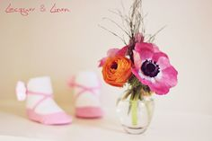 cute and simple flower decor