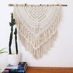 Here she is in all her glory! Available this weekend at the @mooloolabacollectivemarkets. January and Feb workshops are filling quickly so don't delay in booking if you are keen for a workshop soon. All the details are on my website, link in bio #macrame #macramewallhanging #macramewallart #macrameworkshop #boho #bohostyle #beachhouse #tmcm #mooloolabacollectivemarkets #handmade #sunshinecoastcreatives #sunshinecoast #mooloolaba #sunshinecoastaustralia