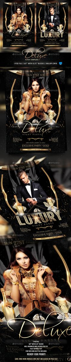 Deluxe and Luxury Flyer Template PSD | Buy and Download: http://graphicriver.net/item/deluxe-and-luxury-flyer-template/9077819?WT.ac=category_thumb&WT.z_author=Briell&ref=ksioks