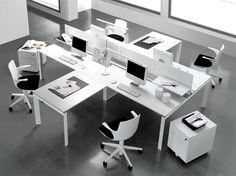 Modern Office Ideas modular office furniture - modern workstations, cool cubicles, sit