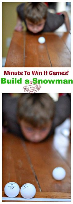 Super Fun Kid Friendly Minute To Win It Games with a Winter and Christmas Theme! - *Kid Friendly - Minute To Win It Party Games - Holiday Party Games, Christmas Party Themes, Kids Party Games, Fun Games, Christmas Fun, Holiday Fun, Holiday Parties, Games For Teens, Adult Games