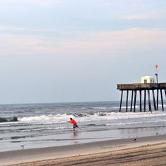 OCNJ-   Happy place.. Early morning beach walk with my camera. Ocean City, New Jersey
