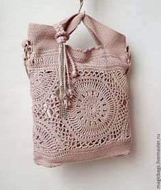Marvelous Crochet A Shell Stitch Purse Bag Ideas. Wonderful Crochet A Shell Stitch Purse Bag Ideas. Crochet Handbags, Crochet Purses, Crochet Shell Stitch, Diy Handbag, Macrame Bag, Purse Patterns, Easy Crochet Patterns, Cute Bags, Knitted Bags