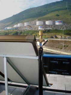 Instalación solar térmica en Santurtzi (Bizkaia)