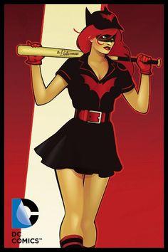 Batgirl - Mera - Batwoman: Bombshells Sweet pic of me hehehe Batgirl, Comic Book Characters, Comic Character, Comic Books, Comics Girls, Dc Comics, Harley Quinn, Robin, Dc Heroes