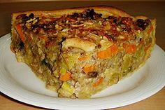 Quiche Muffins, Sauerkraut, Meatloaf, Lasagna, Pizza, Food And Drink, Lunch, Snacks, Dinner