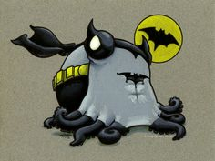 The Caped Cephalopod by meglyman.deviantart.com  now i've seen everythING!!