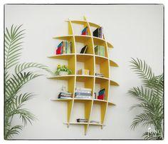 Varen boekenkast, cnc snijden sjabloonbestand - gesneden 3d Model zwevende planken, opknoping boekenplank, boekenkasten, muur plank, woonkamer
