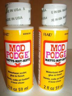 #Adhesive #Glue #Finish #Scrapbooking #Crafts #Decoupage #DIY #ModPodge #Shop #eBay