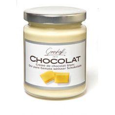 En la tienda online gourmet y delicatessen Érase un gourmet vendemos esta deliciosa crema de chocolate blanco marca Grashoff para usar en pasteles, tortas, tostadas...