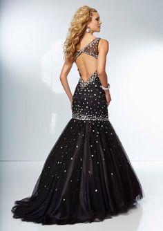 prom dresses prom dresses 2014 prom dresses for teens short trumpet/mermaid tulle beaded and diamonds lovely prom dress
