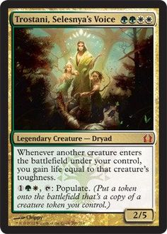 Magic the Gathering  Trostani Selesnyas Voice 206  Return to Ravnica * Find out more about the great product at the image link.Note:It is affiliate link to Amazon.