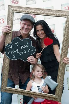 Have a photo booth with cute props and maybe a frame and message boards, a great way for guests to leave a message to Geri and Allen - The Place for All Things Party