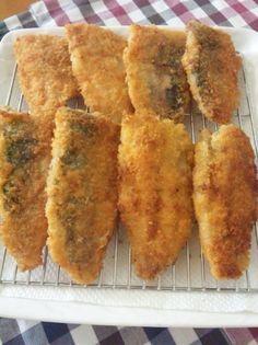 簡単☆フライパンでアジフライ♪ by YORITTA [クックパッド] 簡単おいしいみんなのレシピが217万品