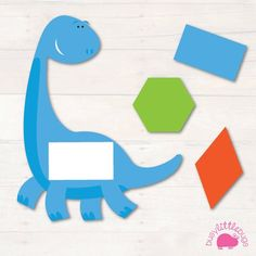 Our Dinosaur Shape Match Game is a great, fun shape matching game for your children. All images are brightly coloured and are of high quality. Dinosaurs Preschool, Dinosaur Activities, Dinosaur Crafts, Preschool Themes, Preschool Activities, Shape Activities, Shape Matching, Matching Games, Dino Craft