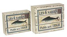 Krabicky LES 6 SARDINES. Cena: 690 Kc. Nakupujte na www.almara-shop.cz.