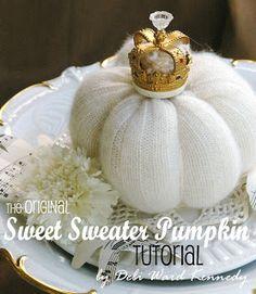 HOMEWARDfound Decor: Pumpkin Tutorial