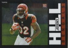 2014 Topps Chrome Football 1985 #36 Jeremy Hill - Cincinnati Bengals