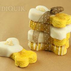 Homemade Pumpkin Dog Biscuits by MissCandiQuik