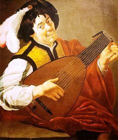 .Ян Харменс ван Бейлерт (1598-1671) Лютнист 1650 г.