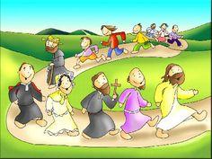"""Feliz Fiesta de todos los Santos!  """"La santidad consiste en estar siempre alegres"""" (Don Bosco)  Amemos al Señor profundamente en nuestros hermanos :)  Un gran abrazo a todos!"""