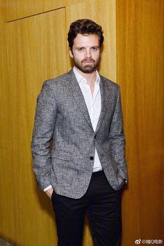 Sebastian Stan | GQ Syle + Hugo Boss Event in LA 2017